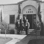 Thumbnail: Harbor Department staff pose for a photo outside Port HQ in 1938.